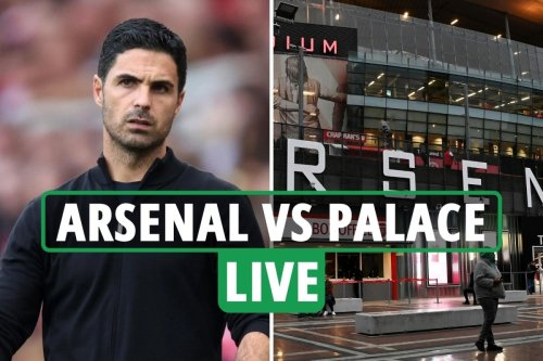 Arsenal vs Crystal Palace LIVE: Latest updates from Premier League match