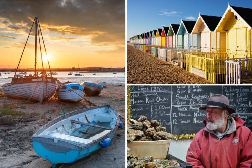 Mersea Island is an oasis of calm and peaceful patch of land off Essex coast