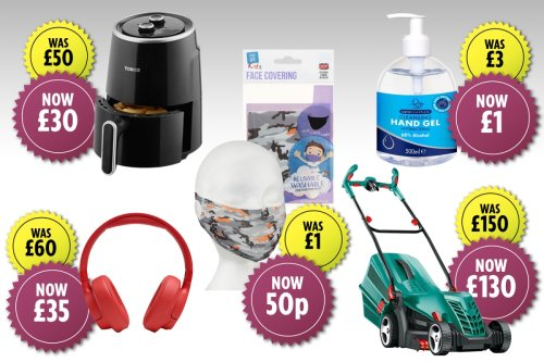 B&M launches HUGE sale with prices starting from 50p