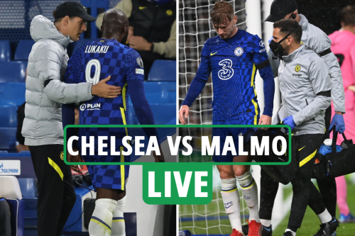 Chelsea 4 Malmo 0 LIVE REACTION: Lukaku AND Werner forced off injured as Blues run riot - latest updates