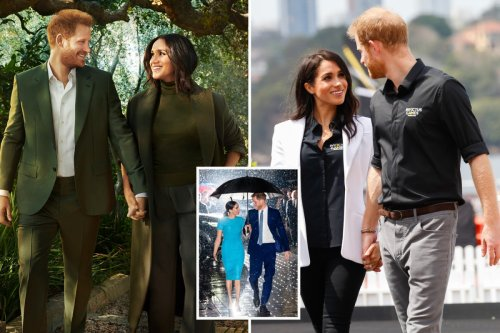 Harry & Meghan's signature Hollywood pose is 'unnatural and staged' says expert