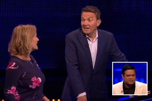 The Chase player ROASTED by Bradley Walsh for Paul Sinha name blunder