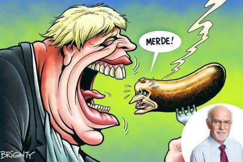 Boris Johnson's revenge on French President Emmanuel Macron is sublime