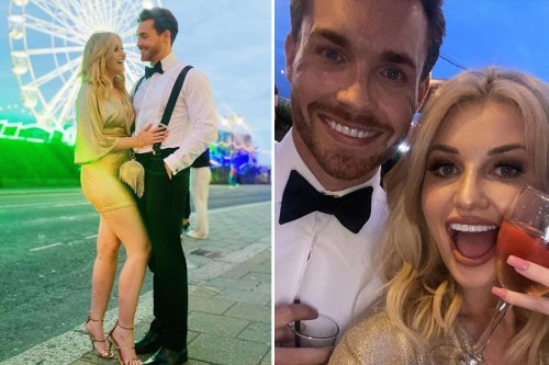 Love Island's Amy Hart reveals her handsome new boyfriend in smitten snap