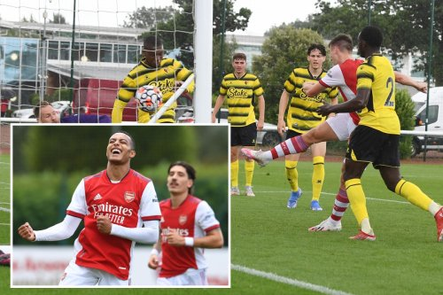 Arsenal 4 Watford 1: Gunners smash Hornets with goals from Lazacette and Tierney