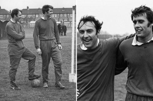 Sir Geoff Hurst calls Jimmy Greaves 'the greatest England forward ever'