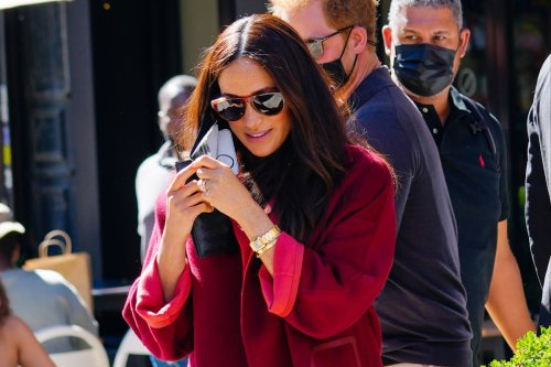 How Meghan is morphing into a Kardashian with near-identical outfits in New York