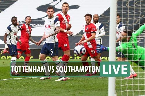 Tottenham vs Southampton LIVE: Latest updates from Premier League clash