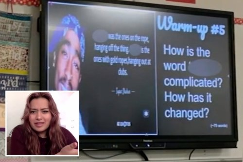White high school teacher placed on leave for asking class 'how is the N-word complicated' during assignment