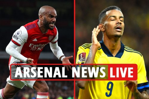 Arsenal news LIVE: Isak wanted to replace Lacazette, Jovic transfer LATEST, Cannavaro attends Crystal Palace match