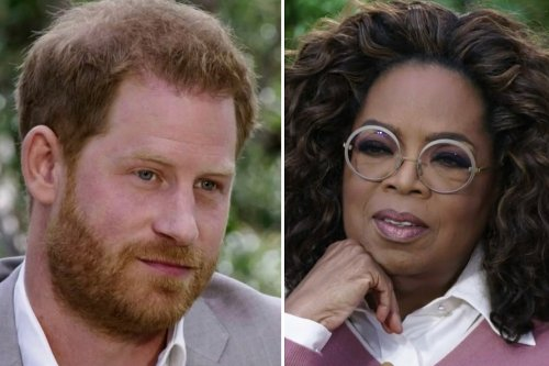 Harry says 'we're all human' and talks 'unresolved trauma' in new Oprah series