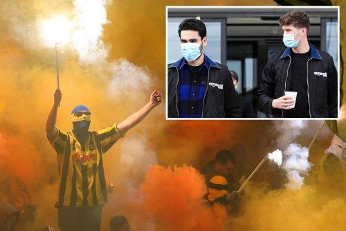 Dortmund ultras set off 'industrial strength' fireworks outside City team hotel