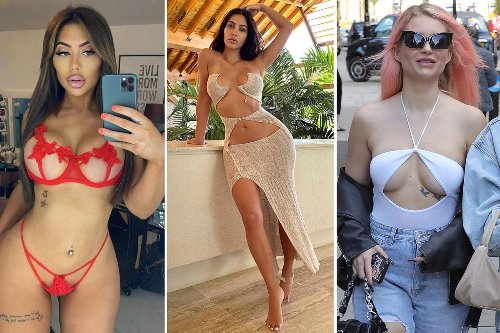 Risky outfits sees stars like Megan Barton Hanson barely covering boobs