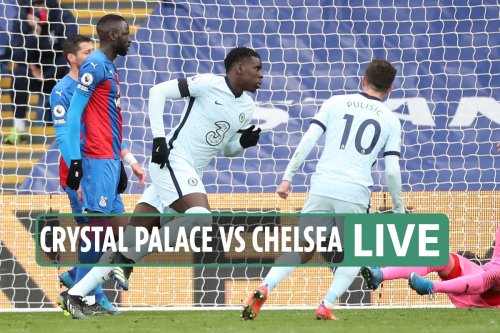 Crystal Palace vs Chelsea: Live stream, TV channel, team news and kick-off time