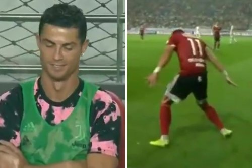 Man Utd star Ronaldo forgives rival who taunted him with his own celebration