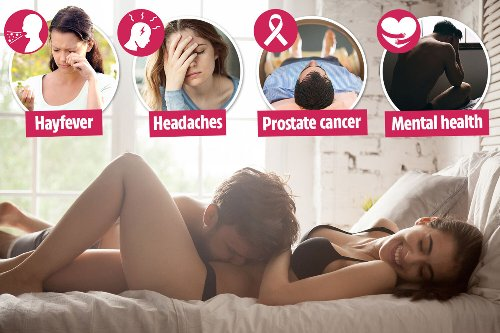 Want relief from hay fever? The best way is to get frisky between the sheets