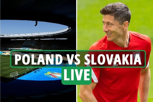 Poland vs Slovakia LIVE: Latest Euro 2020 updates from St Petersburg
