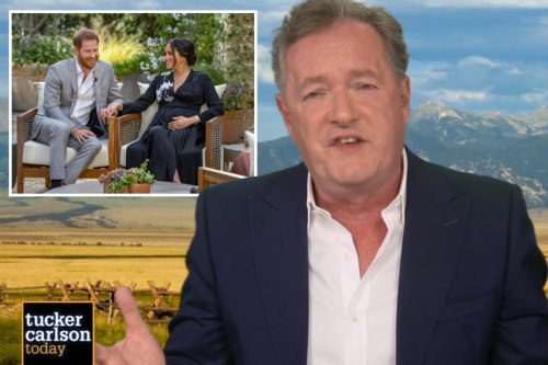 Piers Morgan demands Meghan names royals who wouldn't help her when suicidal