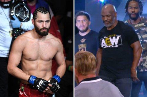 Jorge Masvidal flying knee to Chris Jericho gave AEW more press than Mike Tyson