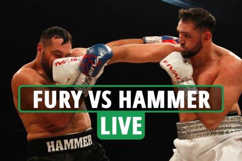 Fury vs Hammer LIVE RESULTS: Chris Eubank Jr and Savannah Marshall on big card