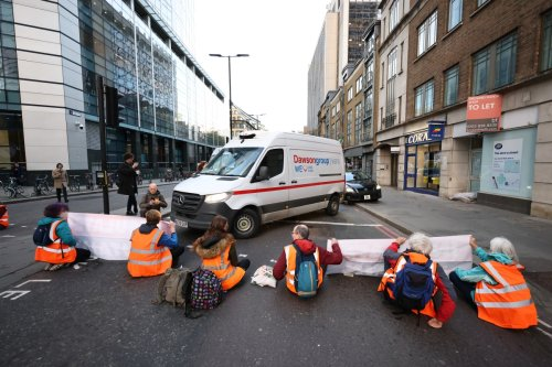 Half-term chaos as eco-mob block roads AGAIN in fresh wave of protests