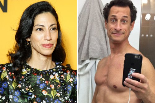 Huma tells of 'rage' as perv husband Weiner came clean about sex pic