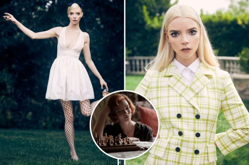 The Queen's Gambit's Anya Taylor-Joy shows off her sophisticated style as she models for Elle