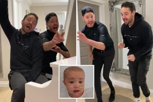 Scott and Adam Thomas pay tribute to Ashley Cain's ill daughter Azaylia