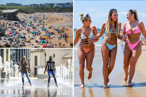 Brits lap up last day of sun before 4 DAYS of thunderstorms to batter the UK