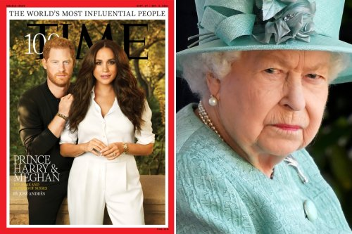 Meghan and Harry's Time cover is a 'stab in the heart' to Queen's reputation