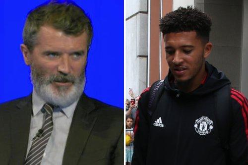 Roy Keane leaps to Man Utd winger Jadon Sancho's defence saying 'give him break'
