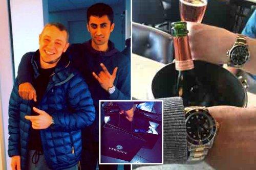 Gang splashed stolen cash on jet ski & Rolex watches after banker scam