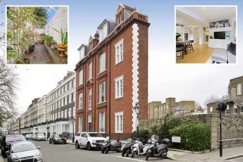 One of London's skinniest houses is for sale for £800k - but it might be tight