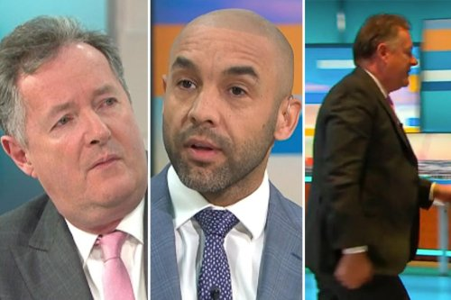 Piers Morgan denies storming off GMB was a stunt admitting 'family tension' after Meghan Markle row with Alex Beresford