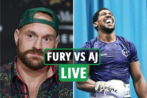 Tyson Fury vs Anthony Joshua LIVE updates: Fight date, ring walk time CONFIRMED, Saudi Arabia to host - latest