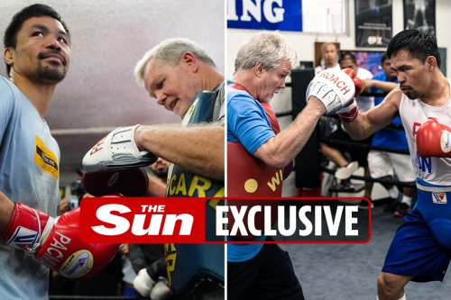 Manny Pacquiao's coach offers $1k reward for sparring partners to floor him