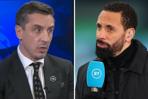Ferdinand disagrees with Neville and states Man Utd aces MUST press or 'get off'