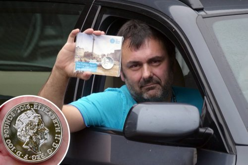 Collector arrested for using £100 coin to buy fuel at Tesco wins £5,000 payout