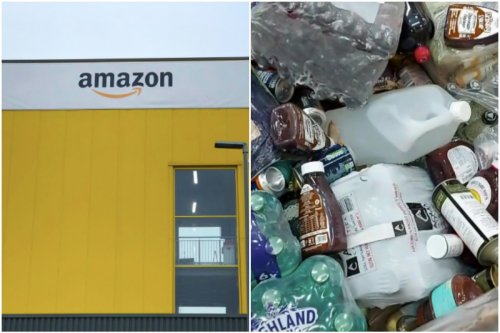 Scots Amazon warehouse destroys pallets of unopened food, drink, toys & clothes