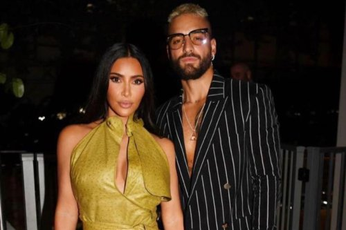 Kim fans insist star is 'dating' singer Maluma after they're seen together