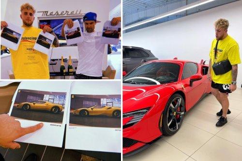 Jake Paul customises a £400,000-plus Ferrari SF90 Spider as boxer rakes in cash