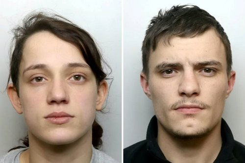 Evil couple left toddler in agony and unable to walk with broken legs & arm
