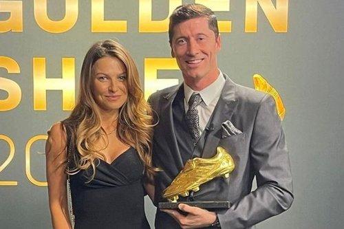 Bayern star Lewandowski handed Euro Golden Shoe after prolific scoring season