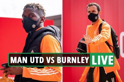 Man Utd vs Burnley LIVE: Latest updates from Premier League match