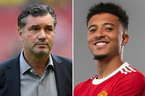 Dortmund hail Sancho for 'flawless behaviour' during £73m Man Utd transfer saga