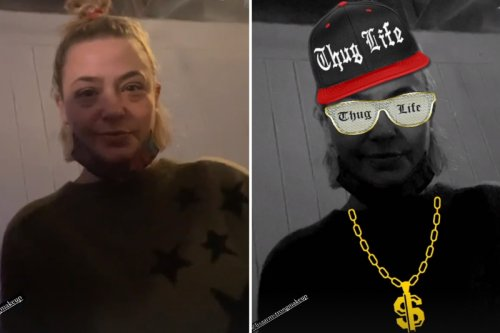 Lisa Armstrong poses in 'thug life' snap as Ant McPartlin discusses addiction