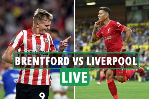 Brentford vs Liverpool: Live stream, TV channel, team news and kick-off time