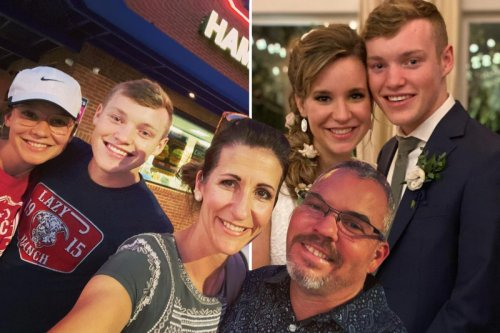 Justin Duggar's wife Claire, 20, hides her stomach after pregnancy rumors