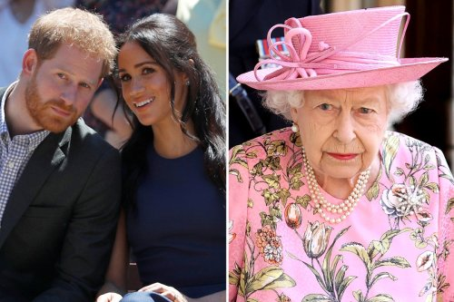Harry and Meghan voted most respected royals after the Queen