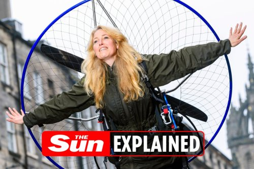 Who is Sacha Dench aka The Human Swan? Why is Joanna Lumley supporting her?